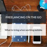 freelancing on the go   gadgets