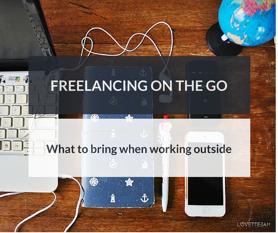 freelancing on the go | gadgets