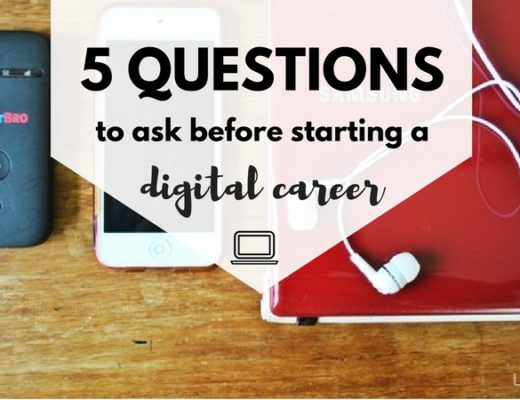 5 questions to start before starting an online job / digital career